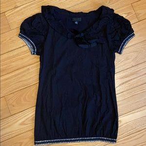 Anna Sui Black Top